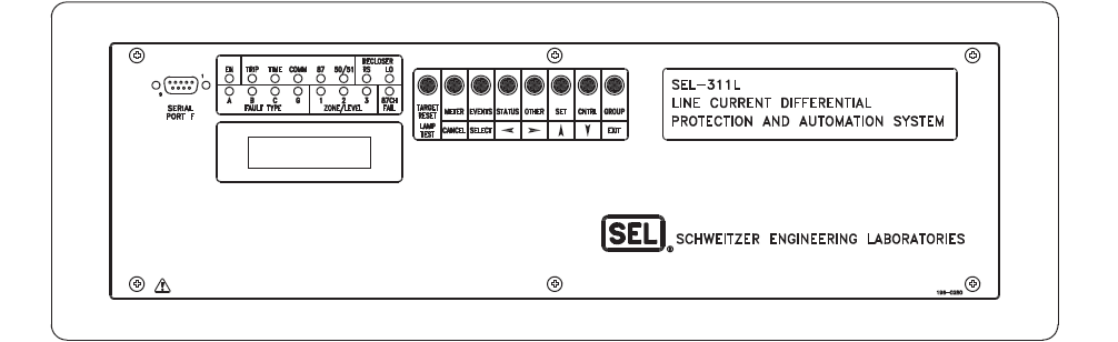 SEL311L- Front Panel