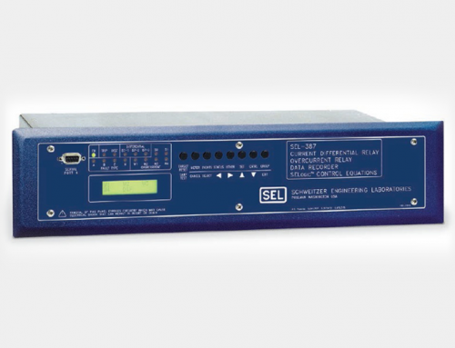 SEL-387/SEL-387A Current Differential and Overcurrent Relay
