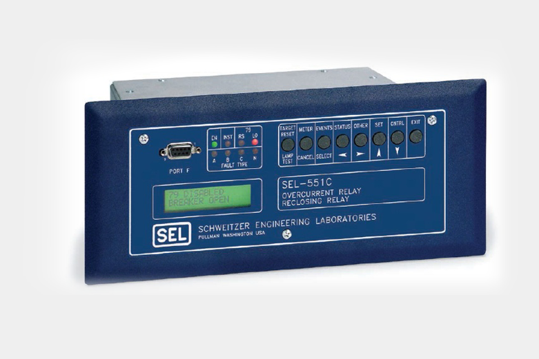 SEL-551C Overcurrent/Reclosing Relay