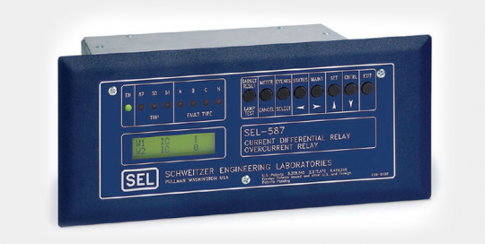 SEL-587 Current Differential Relay