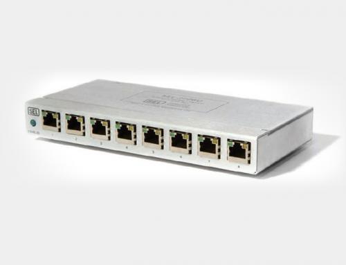 SEL-2726U Eight-Port Ethernet Switch
