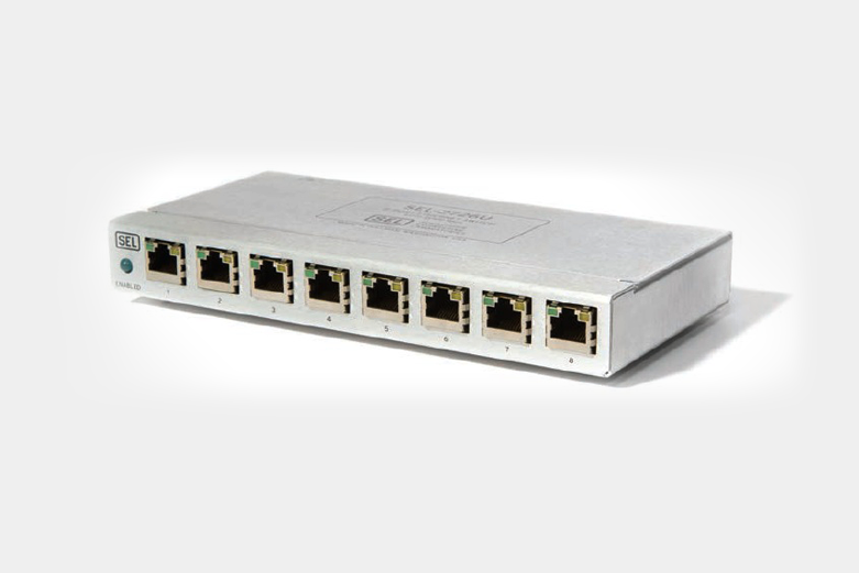 SEL-2726U Eight-Port Ethernet Switch