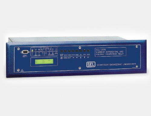 SEL-387E Current Differential and Voltage Relay