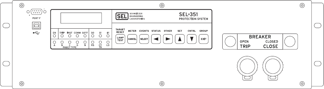 SEL 351_Front sel 351a wiring diagrams wiring diagrams sel 351 relay wiring diagram at fashall.co