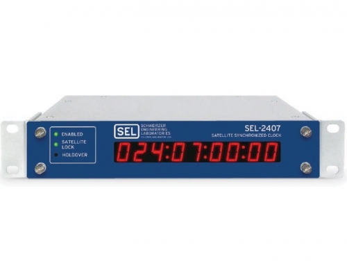 SEL-2407 Satellite-Synchronized Clock