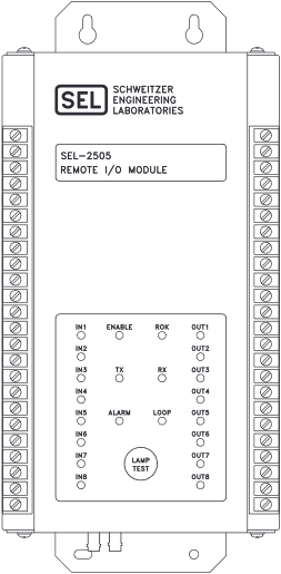 SEL-2505 Front Panel