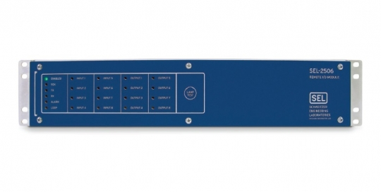 SEL-2506 Rack-Mount Remote I/O Module