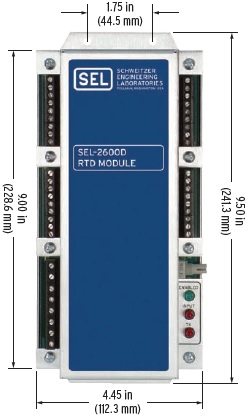 SEL-2600 Front Panel