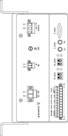 SEL-2664S Rear Panel