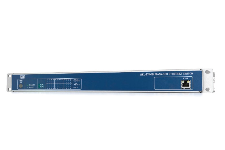 SEL-2740M Managed Ethernet Switch