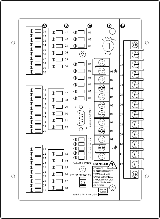 SEL-701 Rear Panel