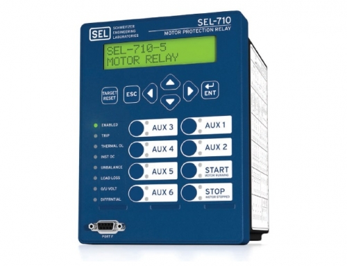 SEL-710-5/SEL-710 Motor Protection Relay