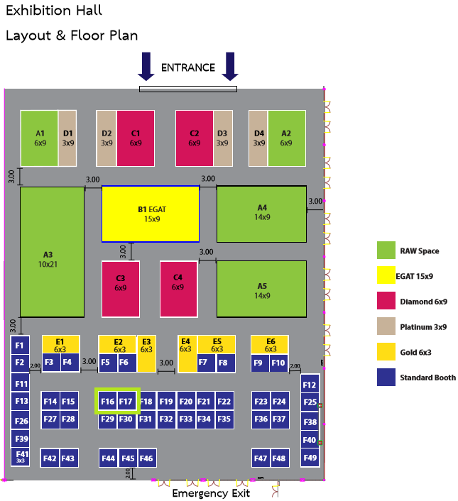 CELSI 2016 Floor Plan